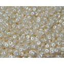 12 Grams Pastel Lt. Cream Super Duo Beads