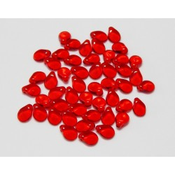 Qty 50 PIP Ruby 5x7 Beads