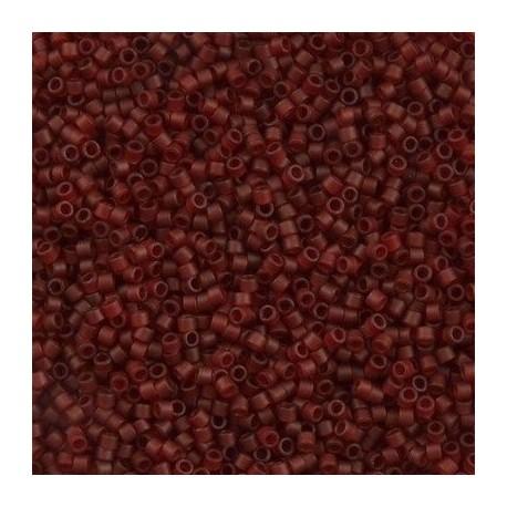 10 Grams DB1262 Matte TR Dark Cranberry 11 Delica Beads