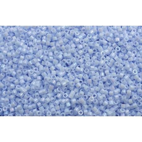 10 Grams DB1507 Op Lt. Sky Blue AB 11 Delica Beads