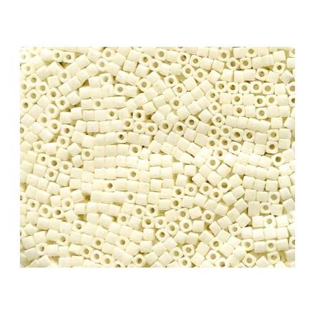 12 Grams 1.8 mm Miyuki SB18-421 Cream Ceylon Cube Beads
