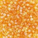 10 Grams DB0100 Tr Lt. Topaz AB 11 Delica Beads