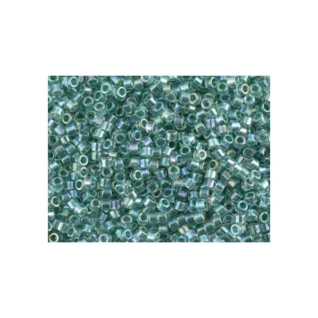 10 Grams DB0084 Sea Foam Lined Crystal AB 11 Delica Beads