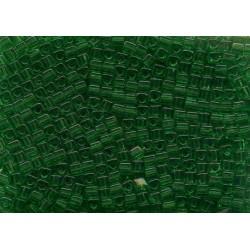12 Grams 1.8 mm Miyuki SB18-146 TR Green Cube Beads
