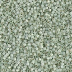 10 Grams DB1454 Miyuki S/L Lt. Moss Opal Size 11 Delica Beads