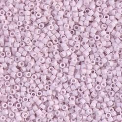 10 Grams DB1524 Miyuki Matte OP Pale Rose Size 11 Delica Beads