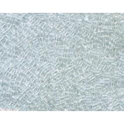 12 Grams 1.8 mm Miyuki SB18-131 Crystal Clear Cube Beads