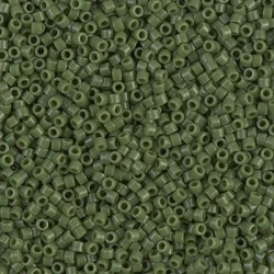 10 Grams DB1135 Miyuki OP Avocado Size 11 Delica Beads
