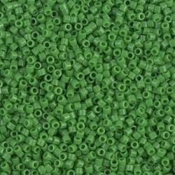 10 Grams DB0724 Miyuki Op Green Size 11 Delica Beads