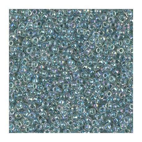 50 Grams 11-263 Sea Foam Lined AB Miyuki Seed Beads