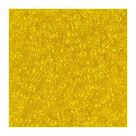 50 Grams 11-136 TR Yellow Miyuki Seed Beads